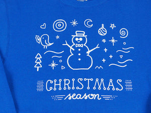 Not-So-Ugly Christmas Sweater - Frosty Blue