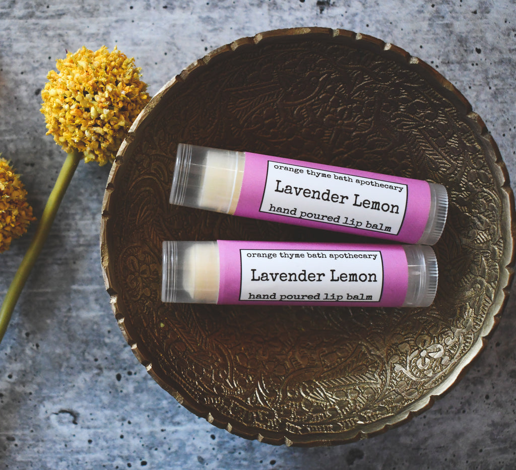 Lavender + Lemon Lip Balm