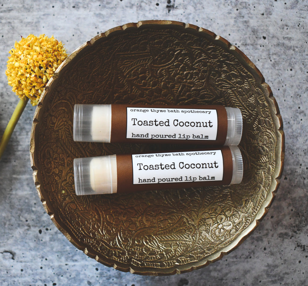 Toasted Coconut Lip Balm