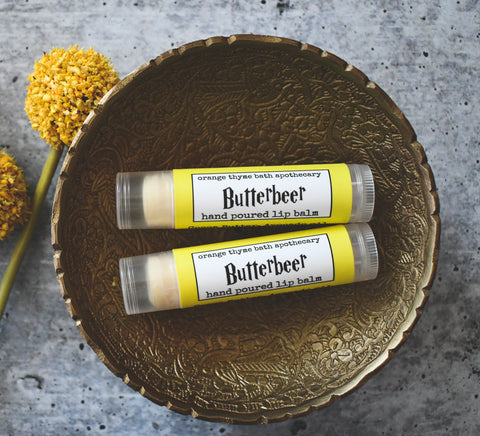 Butterbeer (Butterscotch)  Lip Balm