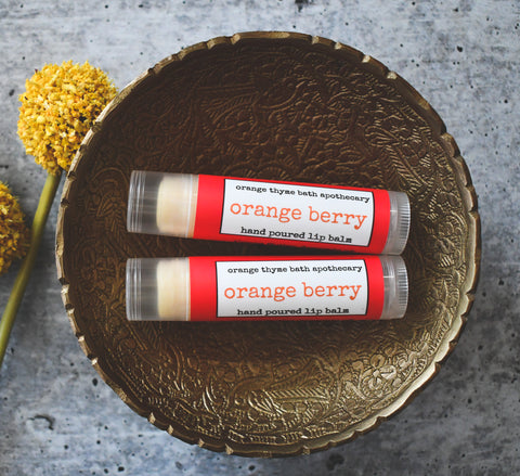 Orange Berry Lip Balm