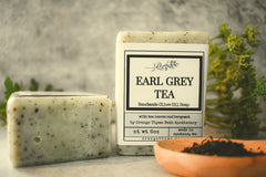 Earl Grey Tea -Olive Oil Soap