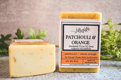 Patchouli + Orange  -Olive Oil Soap