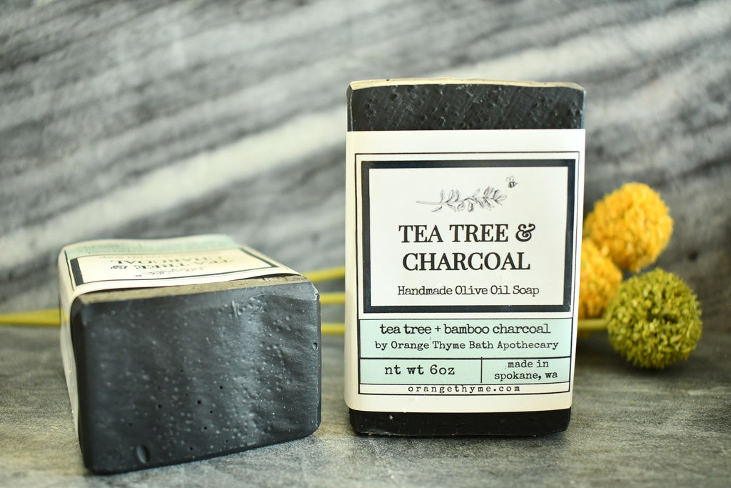 Tea Tree & Charcoal - Soap