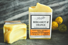 Orange + Bergamot -Olive Oil Soap