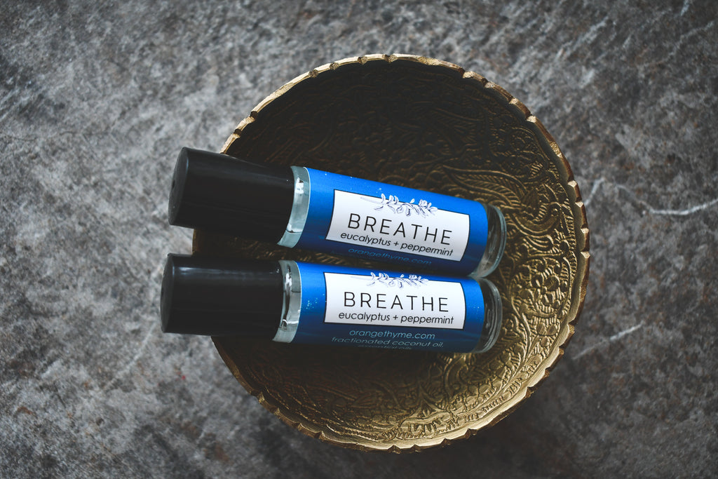 Breathe (Eucalyptus + Peppermint)  - Perfume Oil