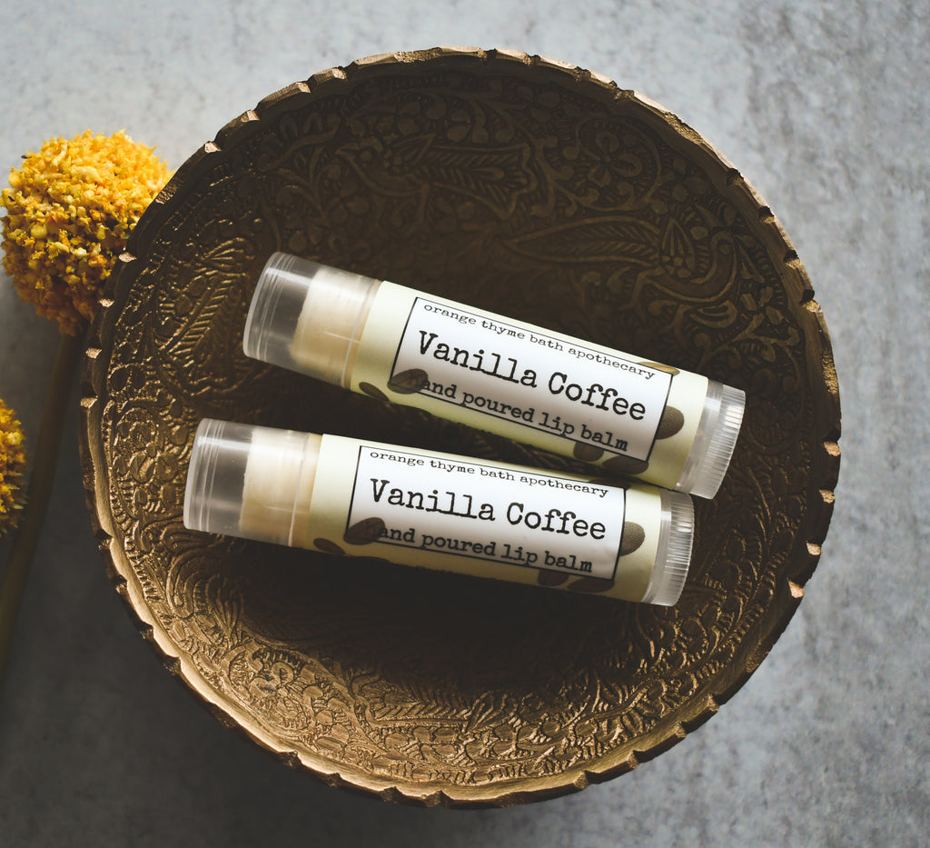 Vanilla Coffee Lip Balm
