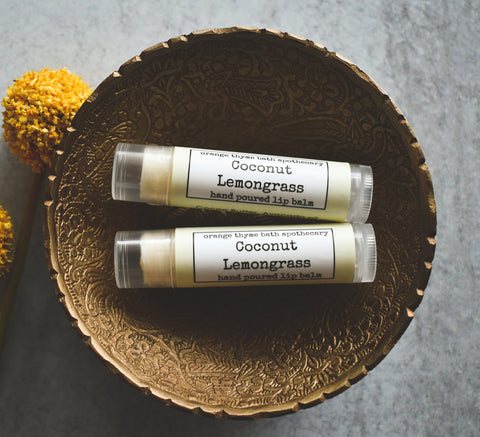 Coconut Lemongrass Lip Balm