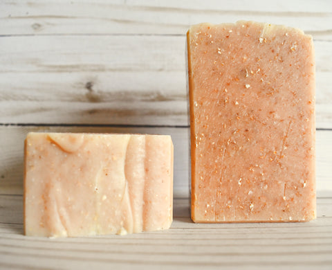 Lemongrass Oat - Olive Oil Soap
