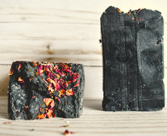 Rustic Rose  -Charcoal Olive Oil Soap