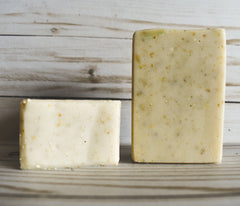 Oatmeal Peppermint  -Olive Oil Soap