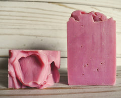 Strawberry Rhubarb -Olive Oil Soap