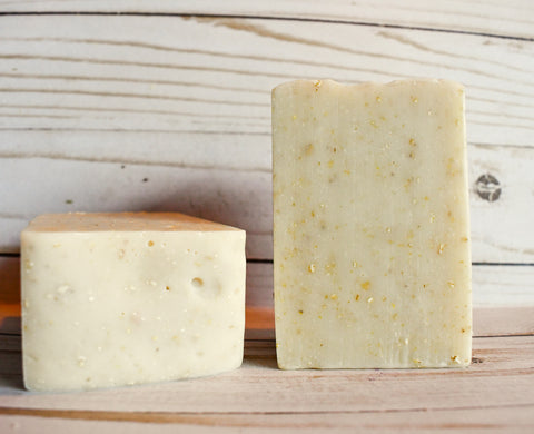Lavender Oatmeal-Olive Oil Soap