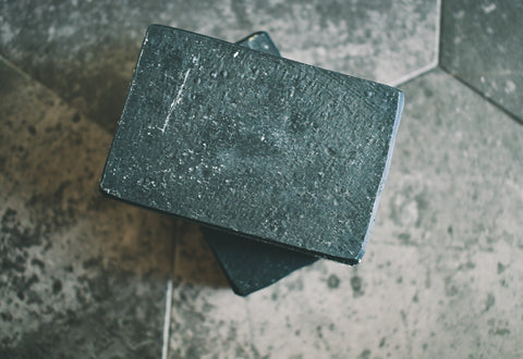 Charcoal + Pumice - Olive Oil Soap (unscented)