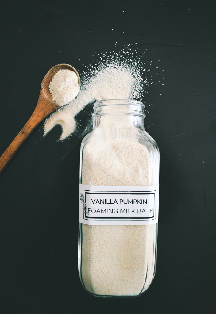 Foaming Milk Bath  - Vanilla Pumpkin