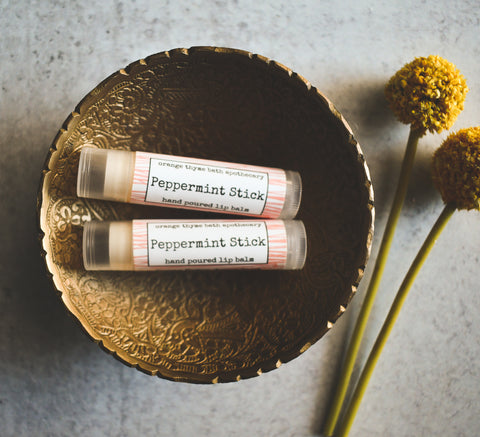 Peppermint Stick Lip Balm