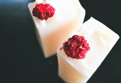 Pomegranate Blossom -Olive Oil Soap