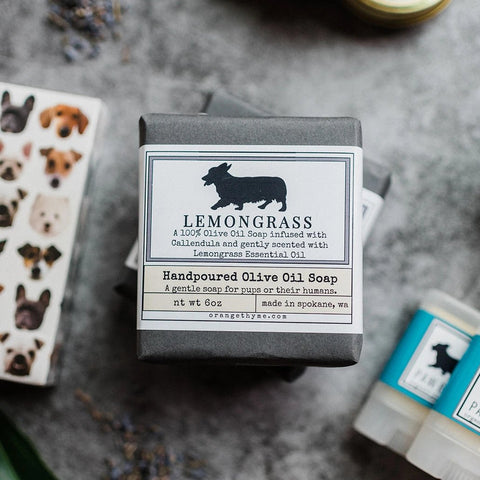 Dog Shampoo Bar - Lemongrass