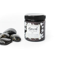 Charcoal + Clay Mud Mask - Lime & Lavender