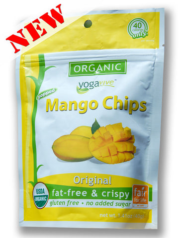 Mango Chips - Original <br> $4.49 per bag <br> (Only sold in 6 pk)