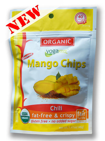 Mango Chips - Chili <br> $4.49 per bag <br> (Only sold in 6 pk)