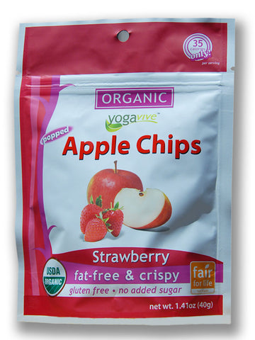 Apple Chips - Strawberry <br> $4.49 per bag <br> (Only sold in 6 pk)