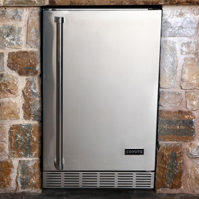 "Coyote 21"" Built-in Outdoor Refrigerator (3616253116496)"