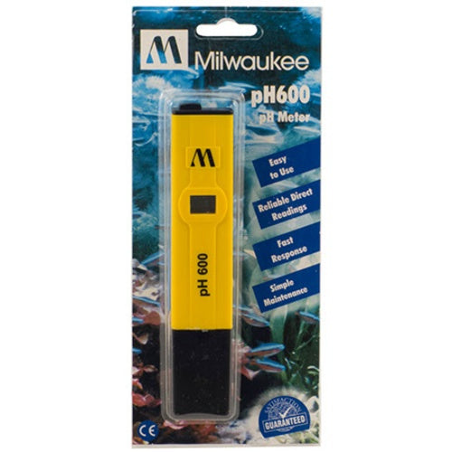 Digital pH Meter (pH600) - 0-14 pH Range