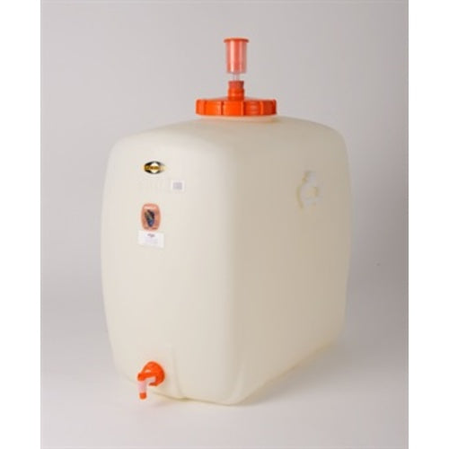 200L / 52.8 Gallon Plastic Fermenter & Storage Tank with Spigot, Airlock & Stopper