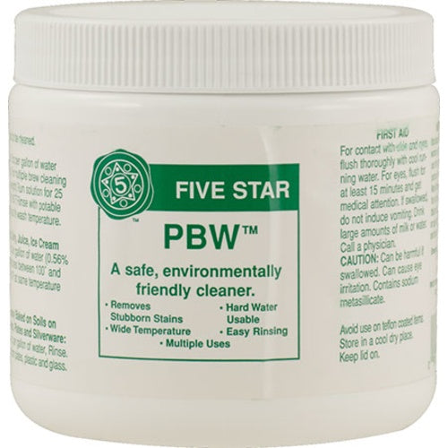 PBW - 1 lbs - Brew Cleaner Buffered Alkaline Detergent