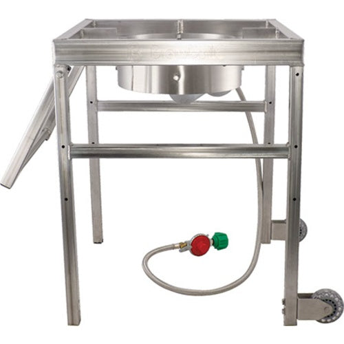 AfterBurner - Propane Brewing Burner with Handle and Casters