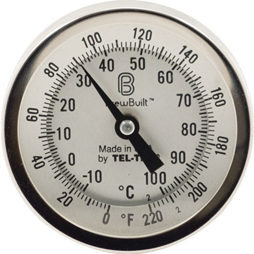 Dial Thermometer - 3 in. Face x 6 in. Probe