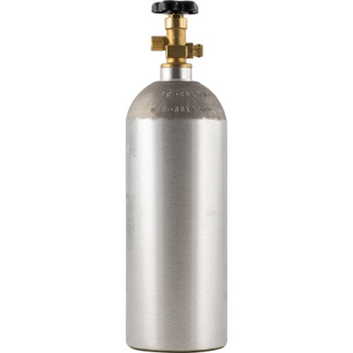 5 lb New Aluminum CO2 Tank Cylinder with CGA320 Valve