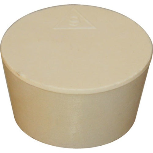 Solid Rubber Stopper for 1 Gallon Carboy Fermenting Jugs