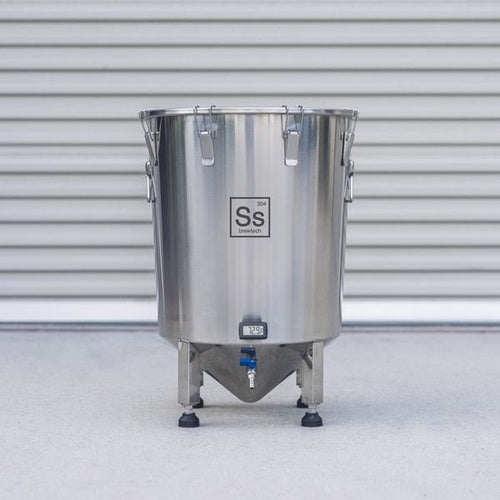 SS Brewmaster Edition Brew Bucket - 14 GAL Stainless Steel Conical Fermenter - BM14-001