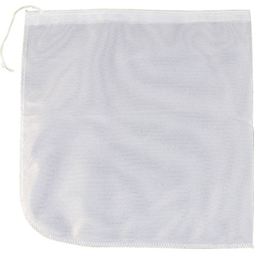 Reusable Nylon Drawstring Mesh Brewing Bag - 15 in. x 15 in.