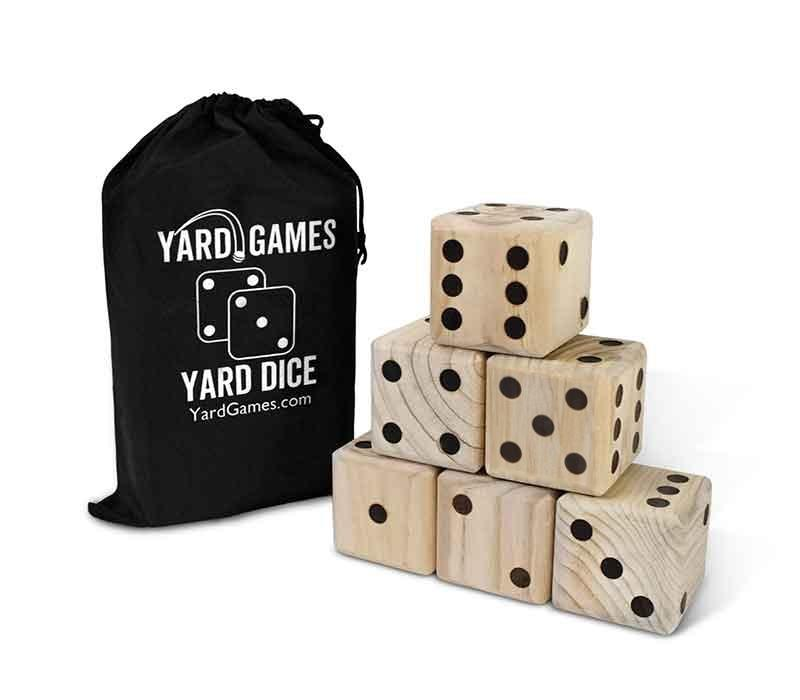 Giant Wooden Yard Dice (3603142443088)
