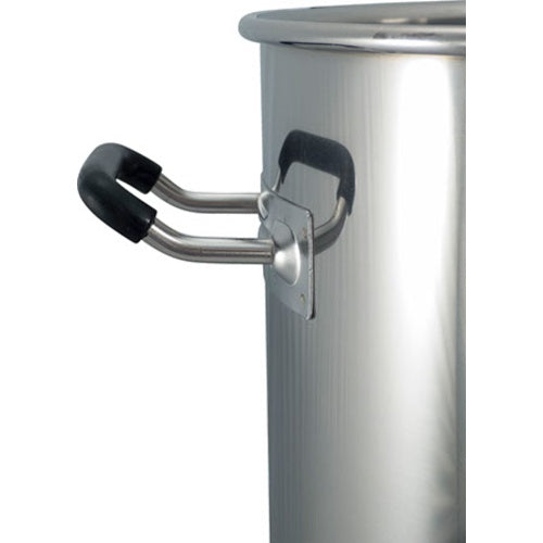 25 Gallon Homebrewing Stainless Steel Brew Kettle with Ball Valve