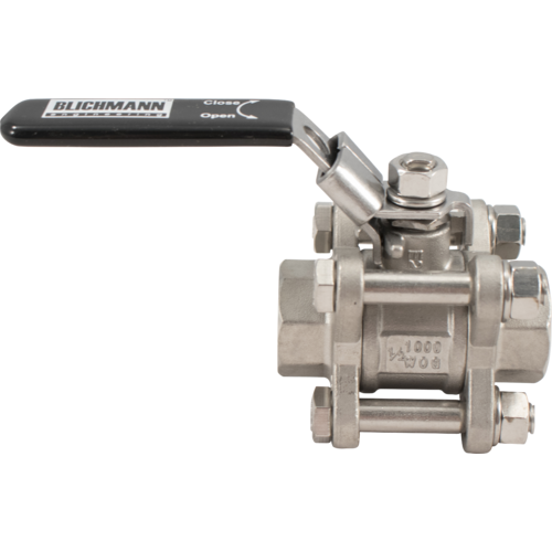 Blichmann 3 Piece Ball Valve - 3/8 in. NPT
