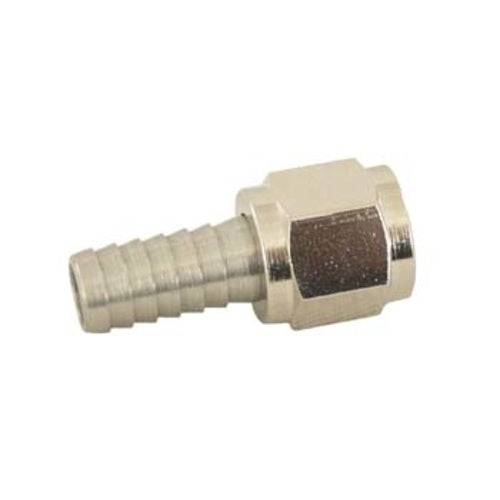 "5/16"" Barb with 1/4"" Nut for Threaded / Flared Ball Lock Quick Connect Homebrew Keg Couplers"