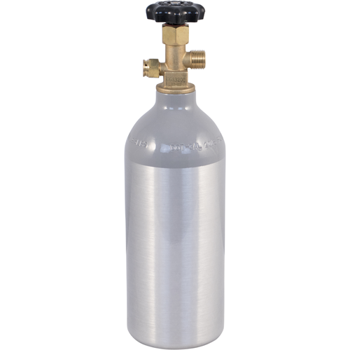 2.5 lb New Aluminum CO2 Tank Cylinder with CGA320 Valve