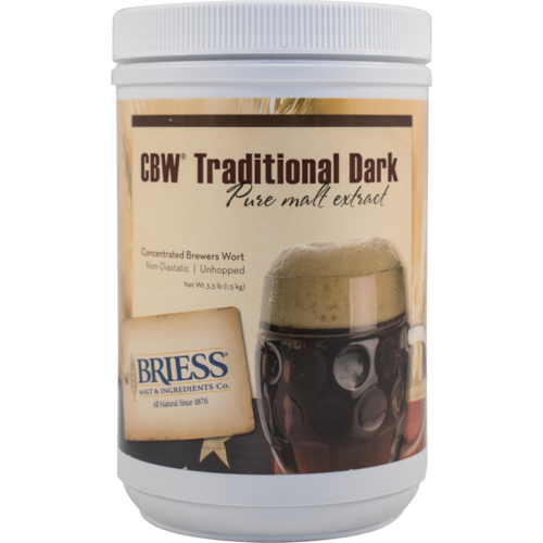 Liquid Malt Extract - Briess LME - Traditional Dark - 3.3 lb Canister