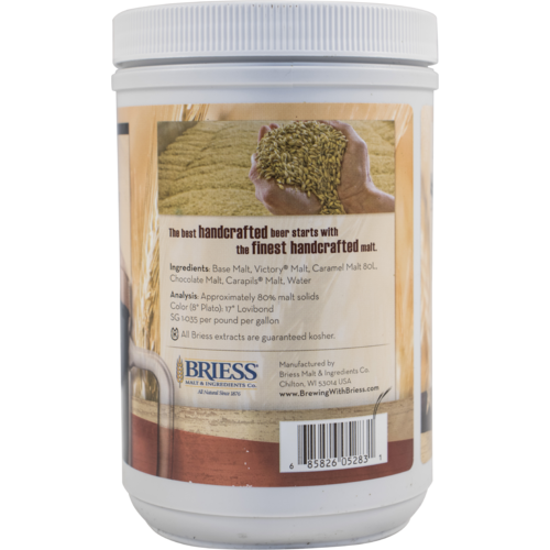 Liquid Malt Extract - Briess LME - Rye - 3.3 lb Canister