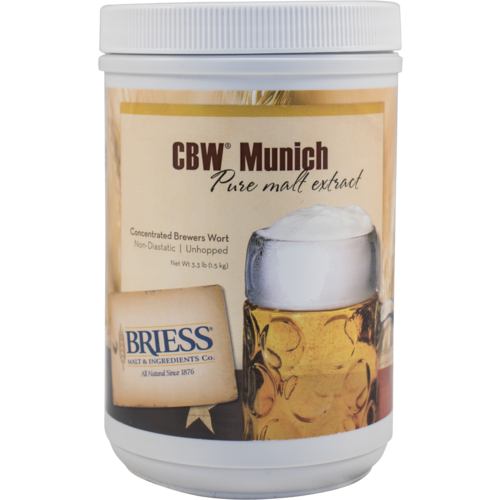 Liquid Malt Extract - Briess LME - Munich - 3.3 lb Canister
