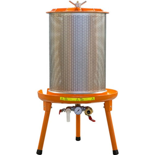 90 Liter Bladder Fruit Press with Recessed Valve Assembly