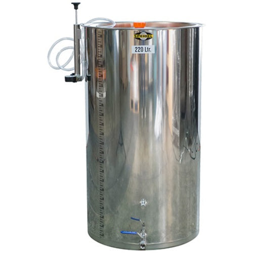 220 Liter / 58 Gallon Variable Volume Stainless Steel Wine Tank