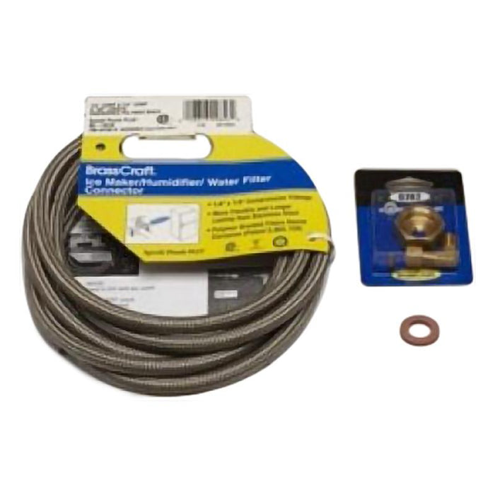 U-Line ULAWATERHOOKUP Braided Water Supply Line for U-Line Ice Makers (3615608307792)