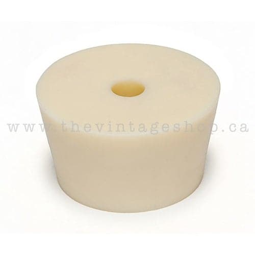 Rubber Stopper - #9.5 With Hole