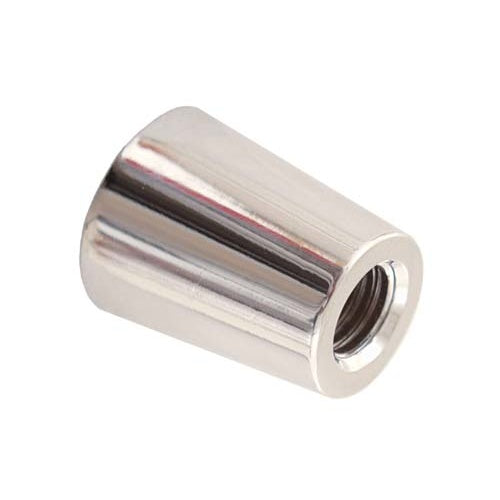 Beer Tap Faucet Handle Ferrule - Silver