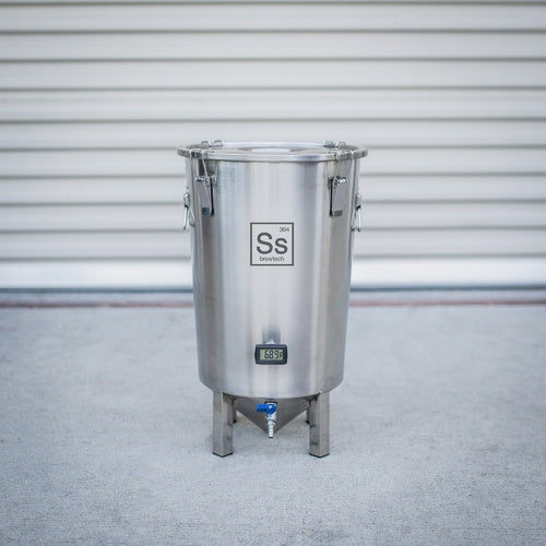 SS Brewmaster Edition Brew Bucket - 7 GAL Stainless Steel Conical Fermenter - BM07-001